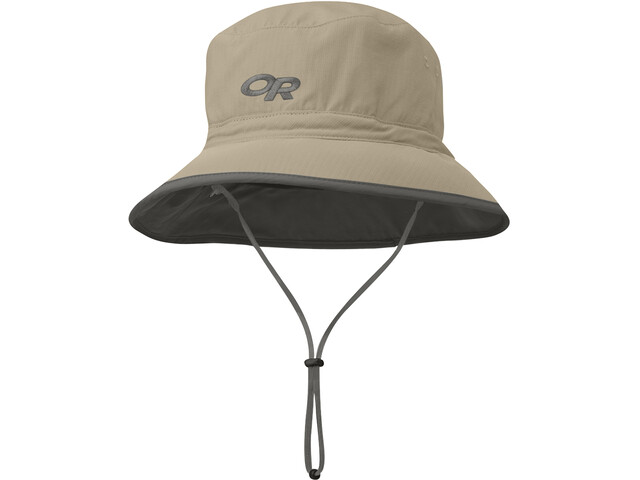 Outdoor Research Sun Czapka, khaki/dark grey